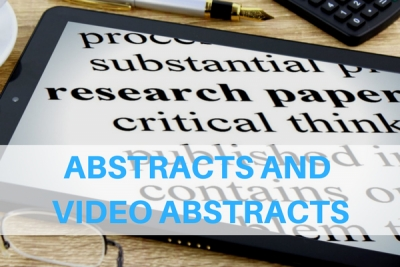 Abstracts and Video Abstracts